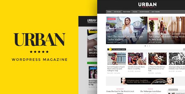 Urban - Responsive Magazine Theme