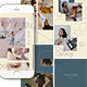 Flaws Instagram Templates - GraphicRiver Item for Sale