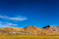 North Indian traditional Korzok village on Tso Moriri, Ladakh. 4500 meters above sea - PhotoDune Item for Sale