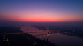 Night Cityscape from of Novi Sad from Air - PhotoDune Item for Sale