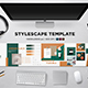 Stylescape / Moodboard Template 01 - GraphicRiver Item for Sale