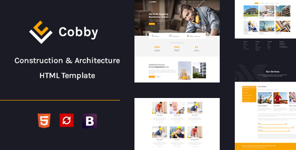 Cobby - Construction & Building HTML5 Template
