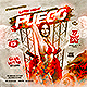 Fuego Latin Night Party Flyer - GraphicRiver Item for Sale