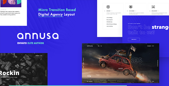 Annusa | Modern Digital Bakery WordPress Theme