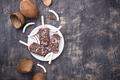 Coconut popsicles in chocolate glaze - PhotoDune Item for Sale