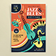 Jazz & Blues Festival PosterTemplate - GraphicRiver Item for Sale
