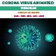 Corona Virus Animated 3D Models - 3DOcean Item for Sale