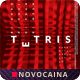 Tetris Music Square Flyer & Social Media Post - GraphicRiver Item for Sale