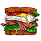 Set of Appetizing Sandwiches - GraphicRiver Item for Sale
