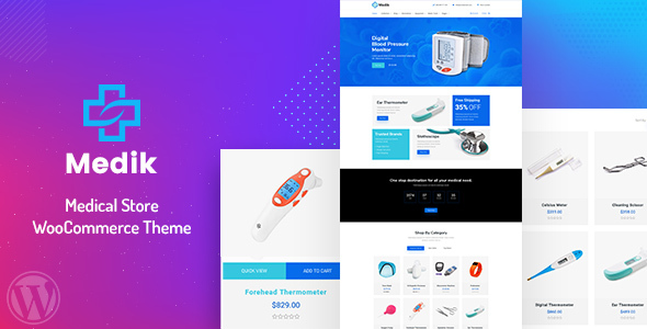 Medik – Medical WooCommerce Theme Preview