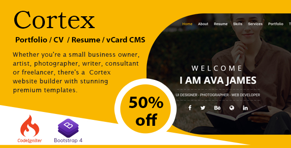 Resume Builder Php Scripts From Codecanyon