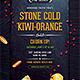 Business Flyer: Stone Cold Kiwi Orange Gelato - GraphicRiver Item for Sale