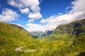 Geiranger fjord and valley - PhotoDune Item for Sale