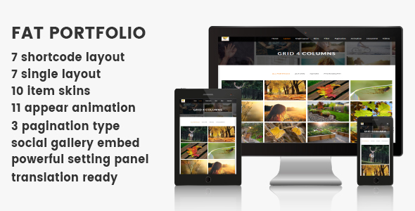 FAT Portfolio - Advance portfolio for Wordpress Download