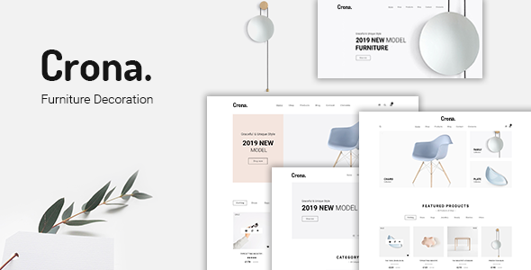 Crona | Furniture Decoration WooCommerce WordPress Theme