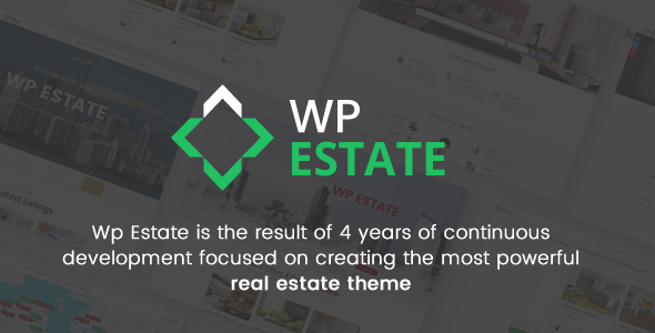 WpEstate Real Estate WordPress Theme