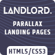 Landlord - Parallax Landing Page Templates - ThemeForest Item for Sale