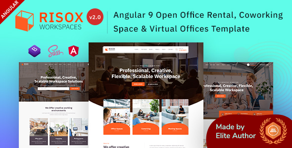Risox - Angular 9 Office & Commercial Space