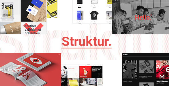 Struktur - Creative Agency Theme