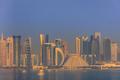 sunrise in Doha. Qatar - PhotoDune Item for Sale