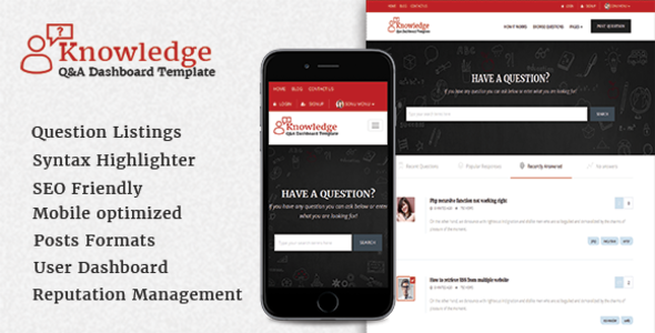 InfoCenter - Knowledge Base and Q/A WordPress Theme