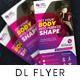 Gym DL Flyer - GraphicRiver Item for Sale