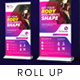 Gym Roll up Banner - GraphicRiver Item for Sale