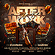 After Work Party Flyer - GraphicRiver Item for Sale