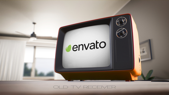 Old TV Receiver