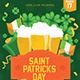St. Patricks Day Flyer - GraphicRiver Item for Sale