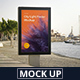 Citylight Poster Mockup - GraphicRiver Item for Sale