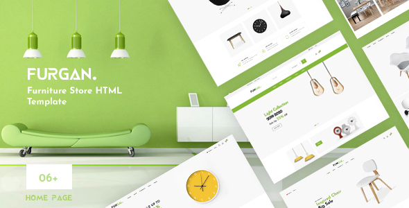 Furgan - Furniture Store HTML Template