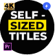 Self-Sized Boxed Titles - for Premiere Pro | Essential Graphics - VideoHive Item for Sale