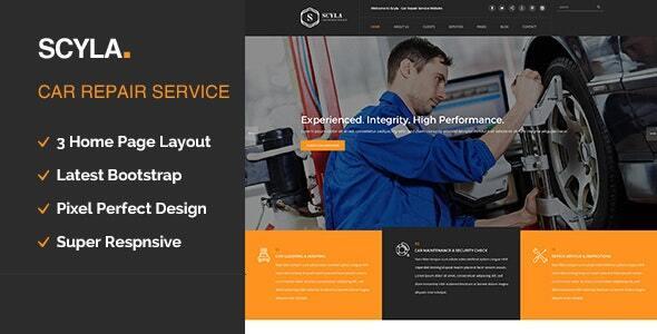 Scyla || Auto Mechanic & Car Repair WordPress Theme