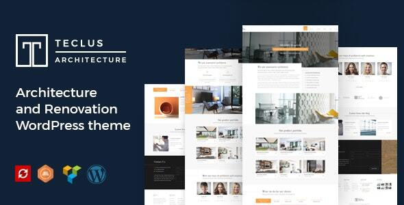 Teclus - Architecture and Renovation WordPress theme