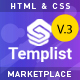 Templist – HTML5 Digital Marketplace Template - ThemeForest Item for Sale