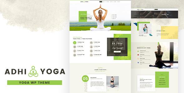 Adhi Yoga | Fitness Theme