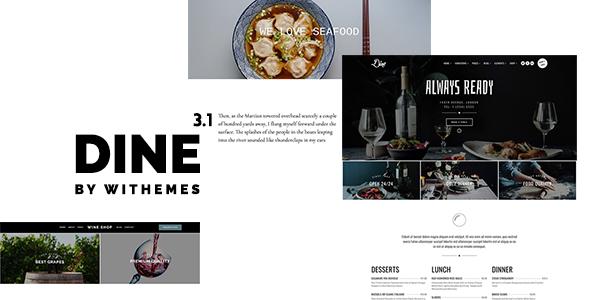 Dine - Elegant Restaurant Theme