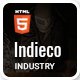 Indieco - Factory & Industry HTML Template - ThemeForest Item for Sale
