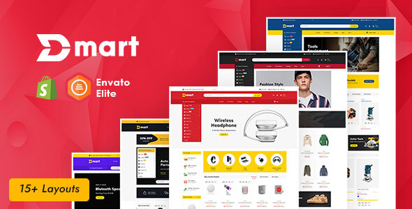 Dmart - Shopify Multi-Purpose Responsive Theme