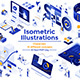 This is Modern Flat Design Isometric Illustration - GraphicRiver Item for Sale
