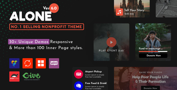 Alone Charity Multipurpose Non-profit WordPress Theme + License key Free Download #1 free download Alone Charity Multipurpose Non-profit WordPress Theme + License key Free Download #1 nulled Alone Charity Multipurpose Non-profit WordPress Theme + License key Free Download #1