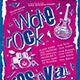 Indie Rock Flyer Template V11 - GraphicRiver Item for Sale