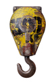 Yellow lifting crane hook - PhotoDune Item for Sale