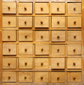 Old wooden closet with drawers - PhotoDune Item for Sale