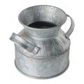 Empty rustic zinc-plated metal vessel - PhotoDune Item for Sale