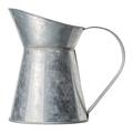 Empty rustic zinc-plated metal jar - PhotoDune Item for Sale