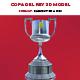 Copa del Rey 3D Model E3D Format - 3DOcean Item for Sale