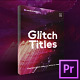 Glitch Titles Pack for Premiere Pro | Essential Graphics - VideoHive Item for Sale