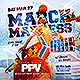 March Madness Sports Flyer - GraphicRiver Item for Sale